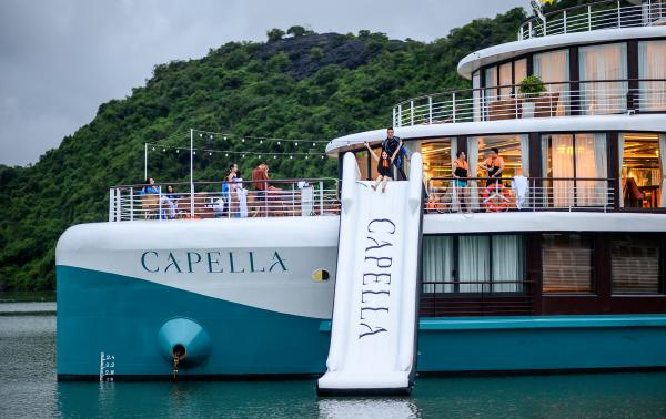 Capella cruise Water slide